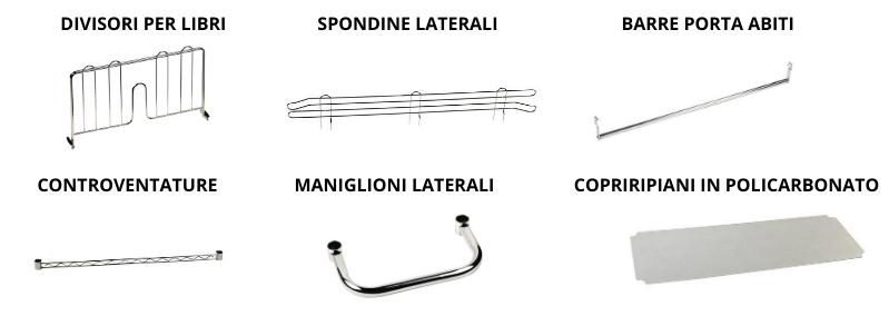 Accessori Vari Scaffali Metallici