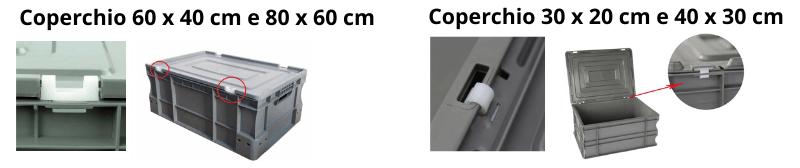 Coperchi per Cassette Norma Europa