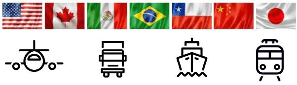 Pallet Inka Esportabili in Tutto il Mondo